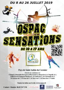 affiche ospac sensations 2019